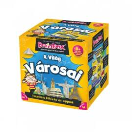 Brainbox A világ városai logikai játék