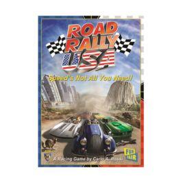 Road Rally USA társasjáték angol nyelvű