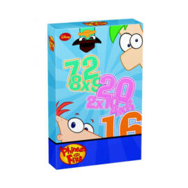 Piatnik Phineas & Ferb szorzókártya kártyajáték