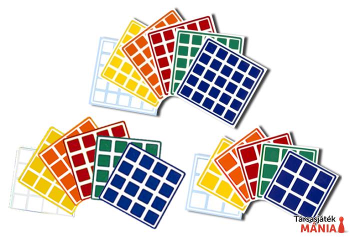 Rubik kocka 5x5 matrica szett R520047