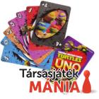 Mattel Tini nindzsa teknőcök Uno kártya