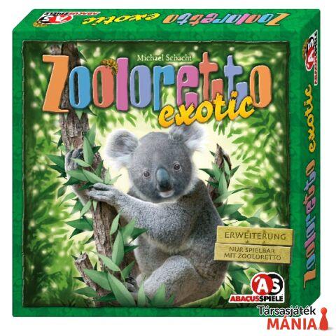 Abacus Zooloretto Exotic kiegészít? társasjáték