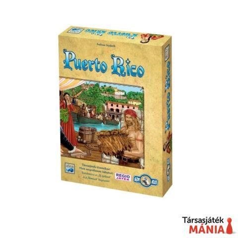 Alea Puerto Rico társasjáték