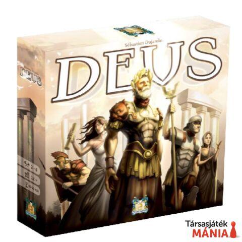 Deus társasjáték, angol nyelvű