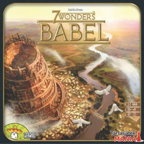 Asmodee 7 csoda: Bábel társasjáték