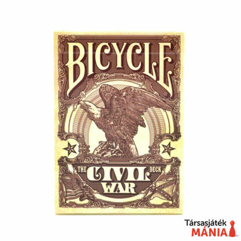 Bicycle Civil War kártyapakli