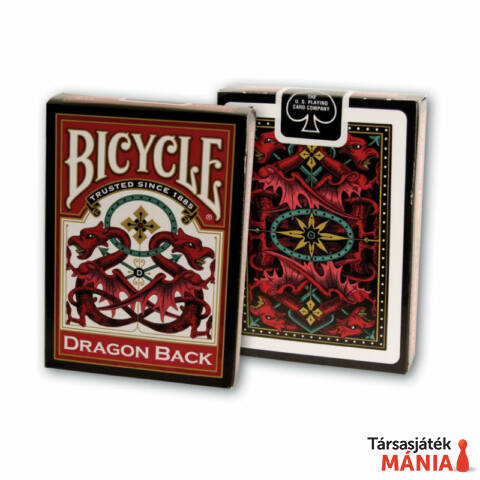 Bicycle Gold Dragon Back kártyapakli