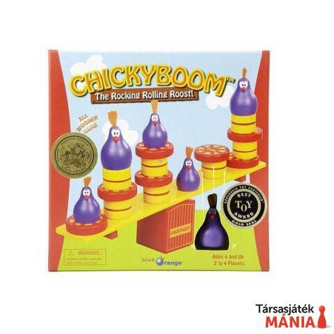 Blue Orange Chicky Boom társasjáték