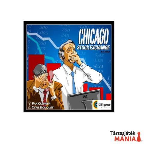Blue Orange Chicago Stock Exchange társasjáték
