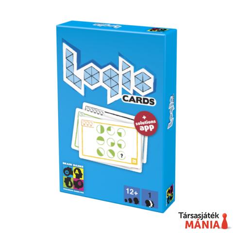 Brain Games Logic cards logikai kártya kék