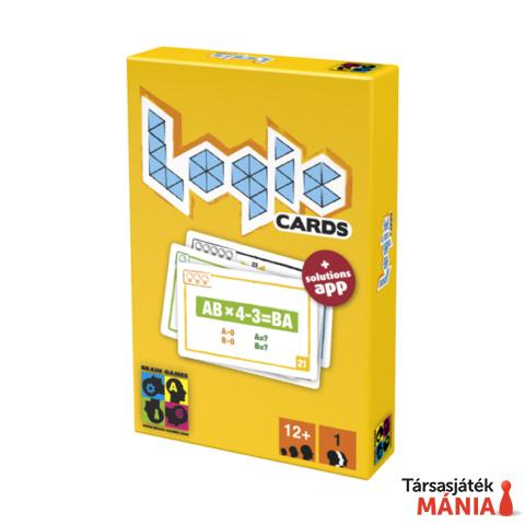 Brain Games Logic cards logikai kártya sárga