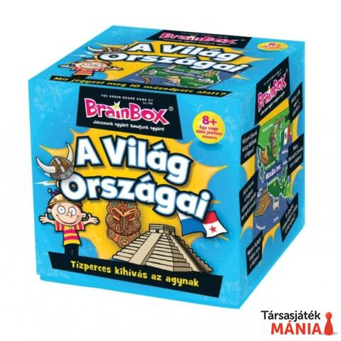 Brainbox A világ országai logikai játék