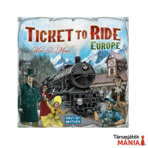 Days of Wonder Ticket to Ride Európa