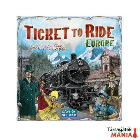 Days of Wonder Ticket to Ride Európa