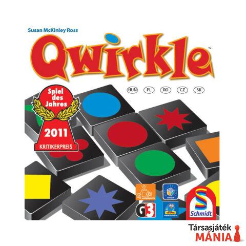 ComPaYa Qwirkle Formák színek kombinációk