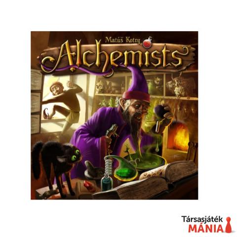 Czech Games Alchemist társasjáték, angol nyelv?