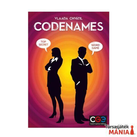 Czech Games Codenames társasjáték, angol nyelv?