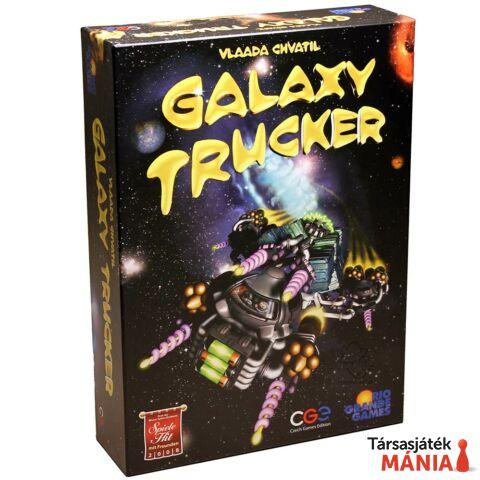Czech Games Galaxy Trucker  társasjáték, angol nyelv?