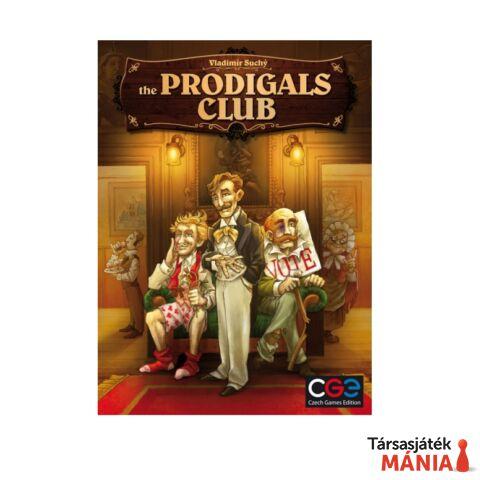 Czech Games The Prodigals Club társasjáték, angol nyelv?