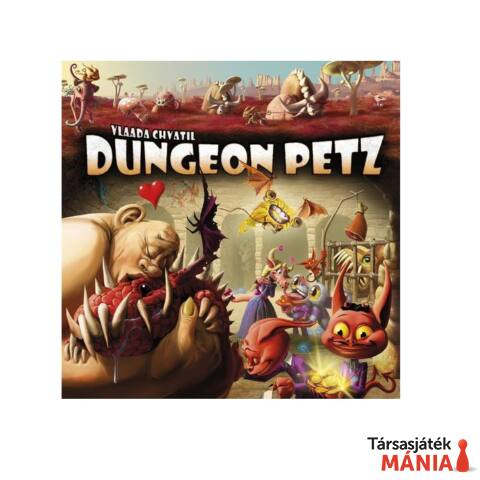 Czech Games Dungeon Petz  társasjáték, angol nyelv?