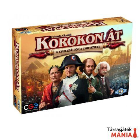 Czech Games - Korokon át: A civilizáció új története