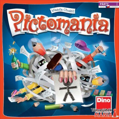 Dino Pictomania társasjáték