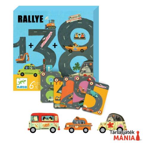 Djeco Rallye társasjáték