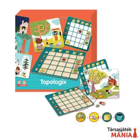 Djeco Topologix társasjáték