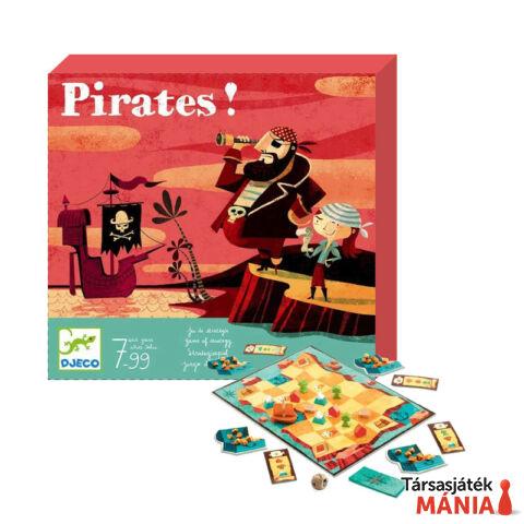 Djeco Pirates társasjáték