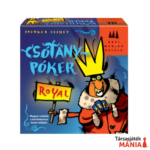 Drei Magier Spiele   Csótánypóker Royal társasjáték