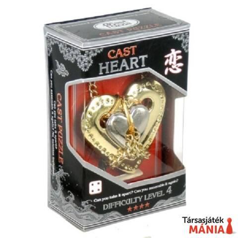 Eureka Cast Silver ördöglakat - Heart****