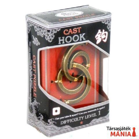 Eureka Cast Silver ördöglakat - Hook*