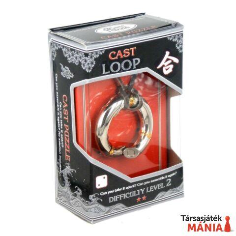 Eureka Cast Silver ördöglakat - Loop **