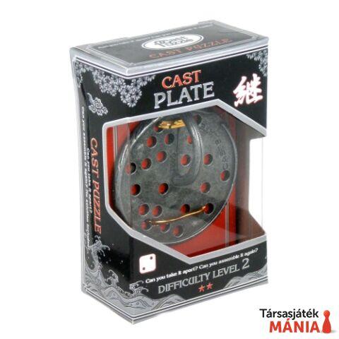 Eureka Cast Silver ördöglakat - Plate **