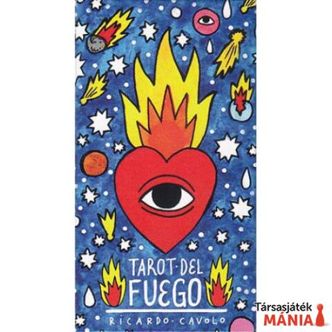 Fournier Tarot Del Fuego Tarot kártyapakli