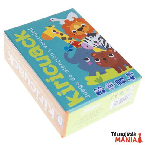 Fournier Kiricuack - Gyorsasági figyelemjáték kártyákkal