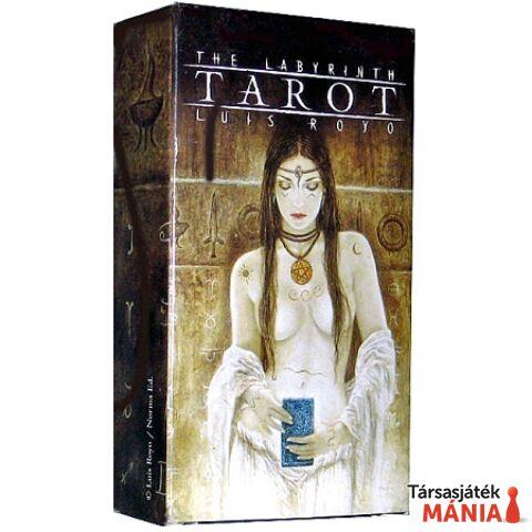 Fournier The Labyrinth - Luis Royo Tarot kártyapakli