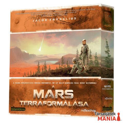 FryxGames A Mars Terraformálása társasjáték