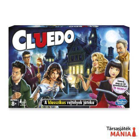 Hasbro Cluedo bűnügyi társasjáték