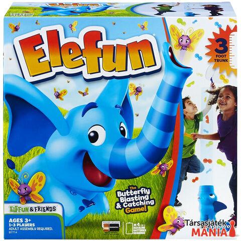 Hasbro Elefun és barátai - Lepkefújó elefánt ügyességi társasjáték