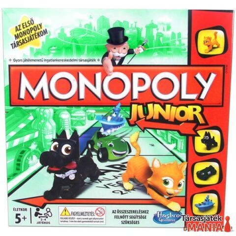 Hasbro Monopoly Junior társasjáték