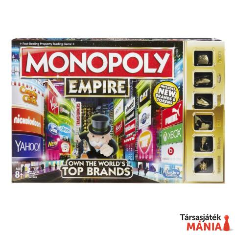 Hasbro Monopoly Empire társasjáték