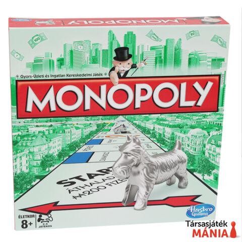 Hasbro Monopoly társasjáték