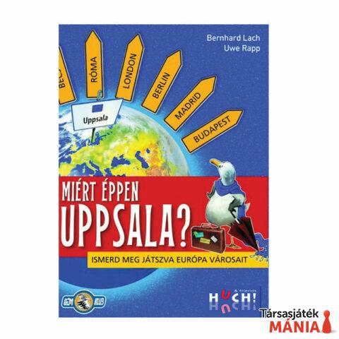 Huch&Friends Miért éppen Uppsala? Társasjáték