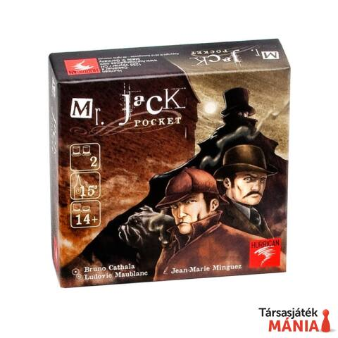 Hurrican Mr. Jack Pocket  társasjáték