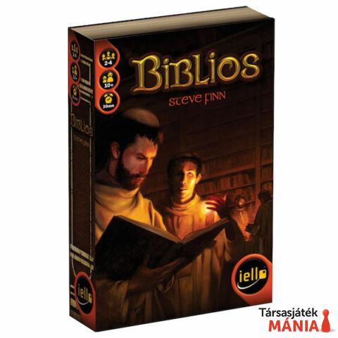 Iello Biblios társasjáték, angol nyelvű