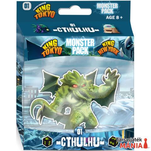 Iello King of Tokyo Monster Pack: Cthulhu társasjáték, angol nyelvű