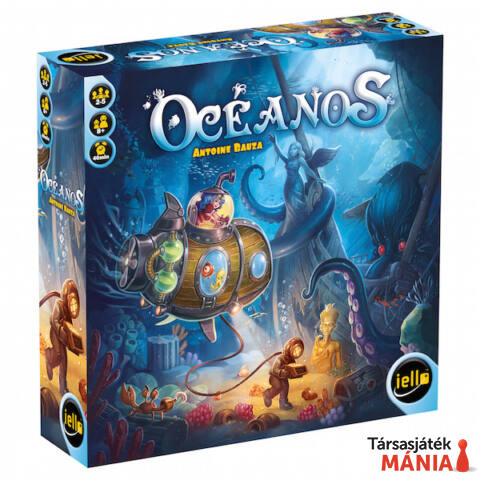 Iello Oceanos társasjáték angol nyelv?