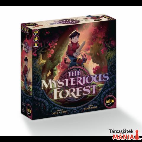 Iello The Mysterious Forest társasjáték, angol nyelvű