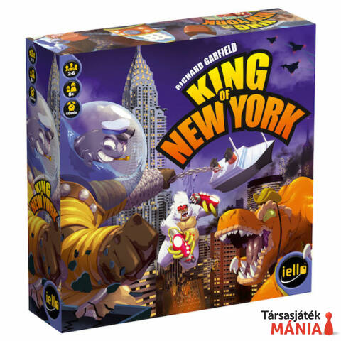 Iello King of New York társasjáték